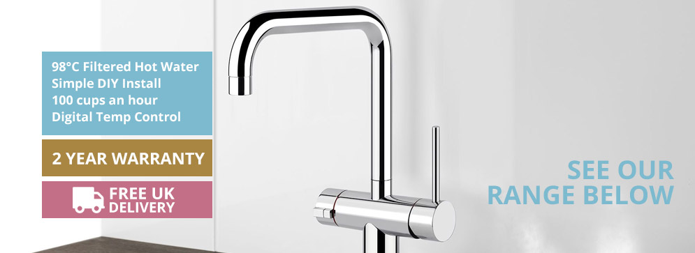 Instant Hot Water Taps Range