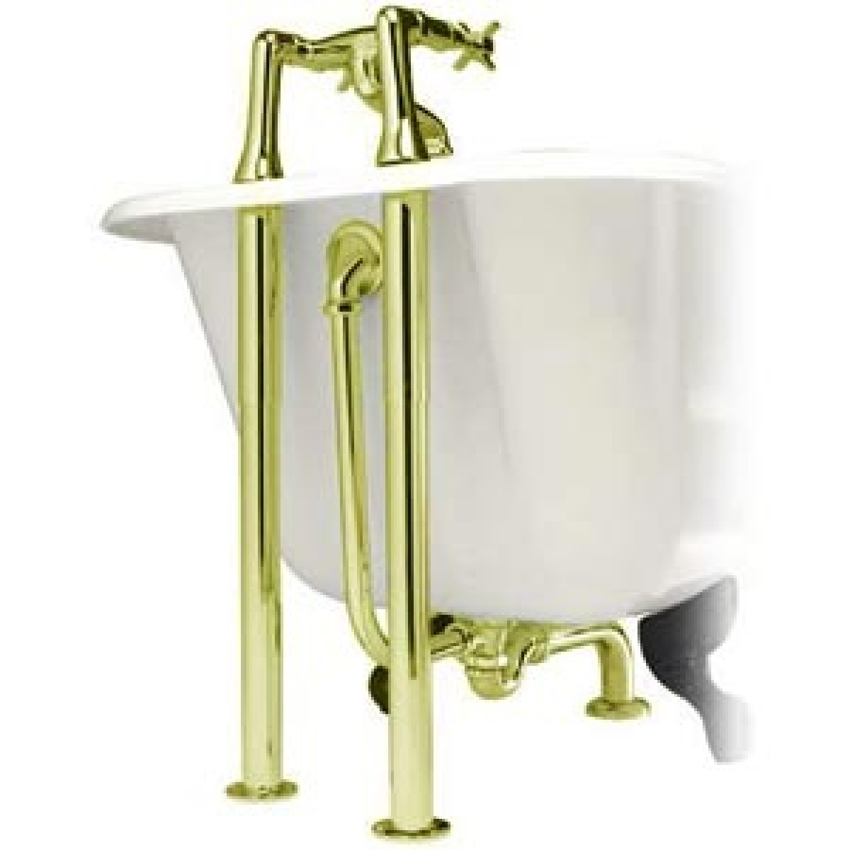 top bath pack in gold plated brass roll top bath pack in gold plated brass