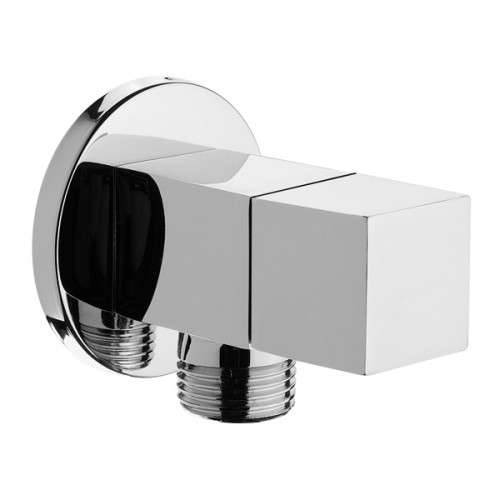 Wall Mounted Isolating Valves Pair Square Design