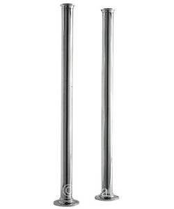 Heavy Freestanding Bath Legs in Chrome