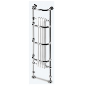 Albert  640mm Chrome Heated Towel Rail