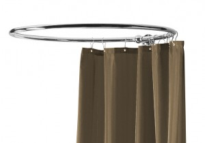 Circular Shower Curtain Rail Chrome