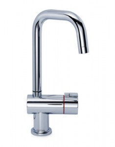 Geyser Single Hot Tap U Spout Chrome