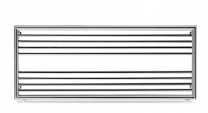 Monza Size 3 550mm x 1200 Heated Towel Rail