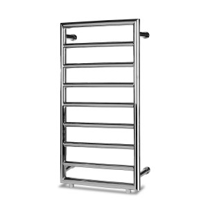 Palma 3 775mm x 500mm Chrome Heated Towel Rail