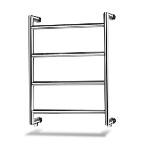 Palma 4 800mm x 500mm Chrome Heated Towel Rail