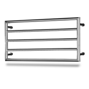Palma 5  550mm x  1200mm Chrome Heated Towel Rail