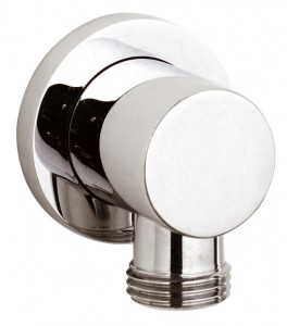 Round Wall Mounted Shower Outlet Elbow